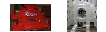 Drehgeräte mit Seitenschub